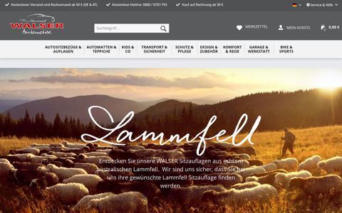 Lammfell | Themenwelten | Walser Online Shop