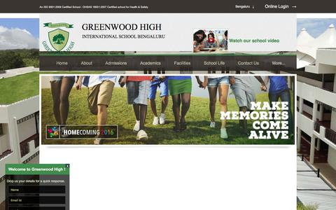 Screenshot of Terms Page greenwoodhigh.edu.in - Terms of Use - Greenwood High International School | Bangalore | Offers IB, IGCSE, ICSE & ISC curriculum - captured Nov. 16, 2016