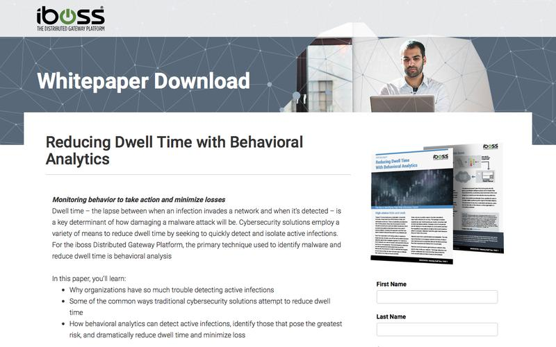 Reducing dwell time with behavioral analytics