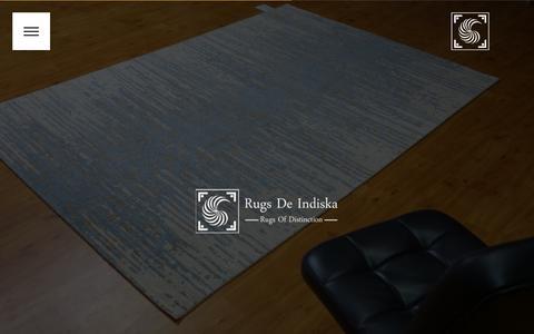 Screenshot of Signup Page rugsdeindiska.com - Rugs De Indiska - captured Dec. 6, 2016