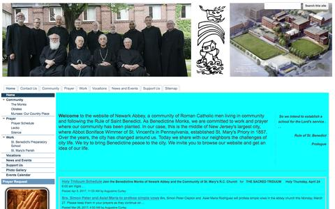 Screenshot of google.com - Newark Abbey - captured April 8, 2017