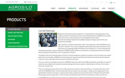 Screenshot of Press Page agrosilo.com - Agrosilo - captured July 23, 2016