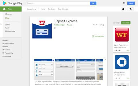 Deposit Express - Apps on Google Play