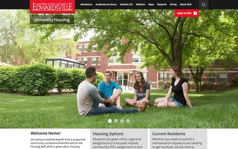 University Housing - Home | SIUE