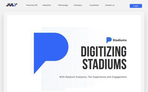 Stadium WiFi Analytics - Fan Analytics, Insights & Engagement For Stadiums