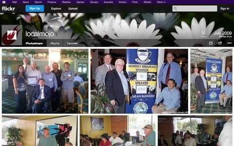 Screenshot of Flickr Page flickr.com - Flickr: localmojo's Photostream - captured Oct. 23, 2014