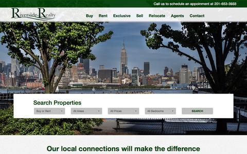 Screenshot of Home Page riverside-realty.com - Riverside Realty | Home - Detail - captured Aug. 15, 2016