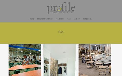 Screenshot of Blog profilecabinet.com - Blog ⋆ Profile Cabinet and Design - captured Sept. 20, 2015