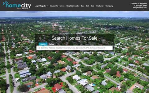 Real Estate   Homes for Sale   MLS Listings   Houses for Sale   Home Search  - HomeCity Real Estate