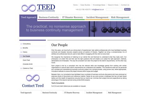 Screenshot of Team Page teed.co.uk - Our People - captured Oct. 7, 2014