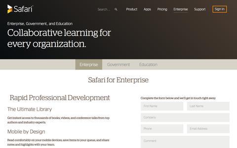 Safari for Enterprise
