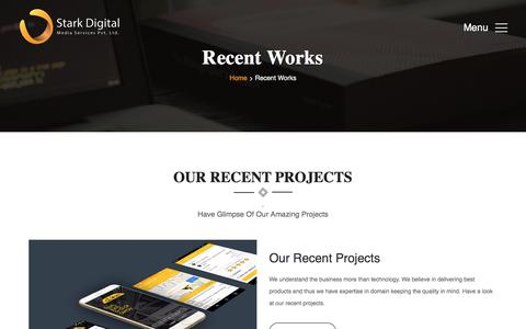 Screenshot of Products Page starkdigital.net - StarkDigital has completed 500+ web development projects successfully - Stark Digital - captured Nov. 17, 2017