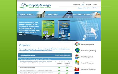Screenshot of Pricing Page propertymanageronline.com - Property Management Maintenance Software, Property Rental & Letting Agent Software - Pricing | PropertyManagerOnline.com - captured March 10, 2016