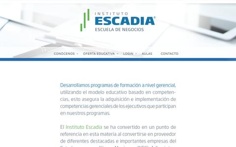 IN- HOME –  Escadia