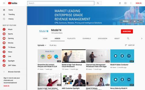 Model N - YouTube