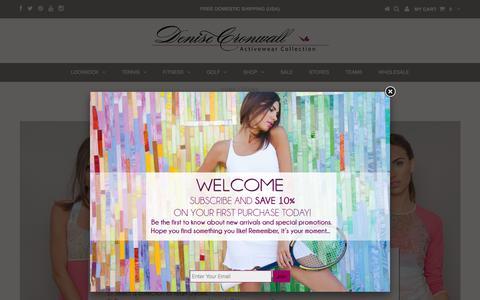 Screenshot of Team Page denisecronwall.com - TEAMS – Denise Cronwall Activewear - captured Nov. 24, 2016