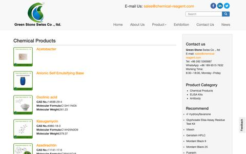 Screenshot of Products Page chemical-reagent.com - Buy Chemical Products - Lab chemical reagents   Chemical raw material manufacture on chemical-reagent.com - captured Dec. 2, 2018