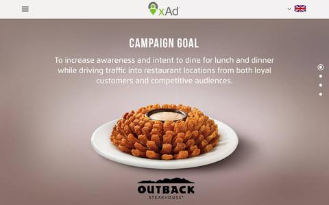 Screenshot of Case Studies Page xad.com - Outback Steakhouse - xAd Website - captured Dec. 8, 2016