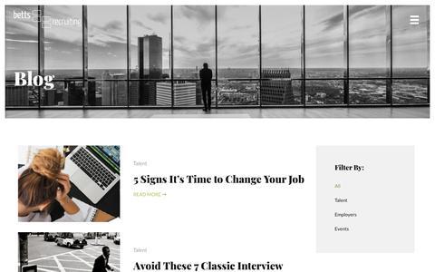 Blog - Betts Recruiting