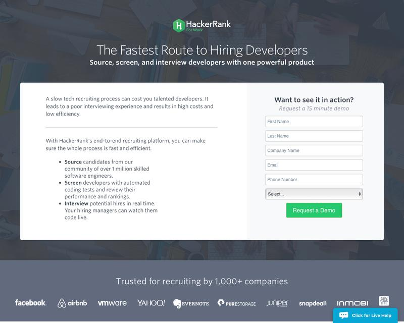 HackerRank (formerly interviewstreet)   Competitive Intelligence and