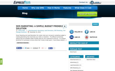SMS Marketing Blog