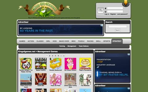 Screenshot of Team Page kingofgames.net - Management Games - Kingofgames.net - Free Online Games - captured Sept. 22, 2014