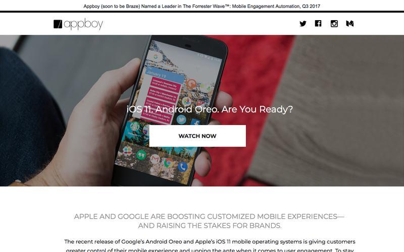 Appboy's GAFA Tech Briefing