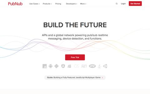 APIs and a global network powering realtime communication | PubNub