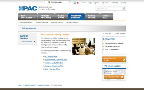 Screenshot of Signup Page paclp.com - Industry training catalog | Online university courses | PAC - captured July 8, 2017
