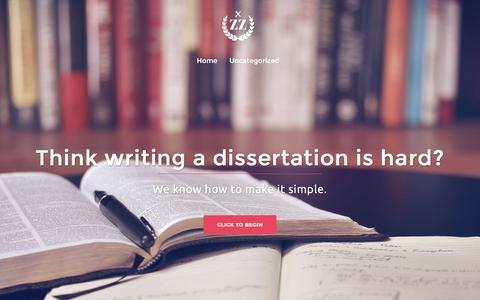 Screenshot of Home Page zazaenergy.com - Zaza Energy: Light Up Your Desertation Writing Skills - captured Nov. 28, 2016