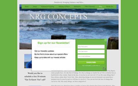 Screenshot of Blog nrgconcepts-4u.com - NRG Concepts - Blog - captured Feb. 15, 2016