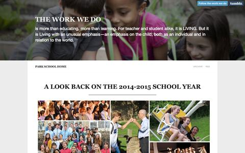 Screenshot of Home Page the-work-we-do.org - The Work We Do - captured Sept. 2, 2015