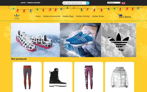 Screenshot of Home Page airheadonline.co.uk - Adidas Superstar Black And White | Cheap Adidas Superstar UK Sale - captured March 29, 2017