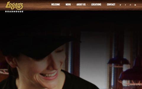 Screenshot of Jobs Page logansroadhouse.com - Careers - Logans Roadhouse - captured Oct. 28, 2014