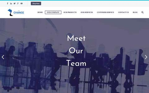 Screenshot of Team Page thechange.co.uk - Our Team - The Change Organisation - captured Nov. 9, 2017