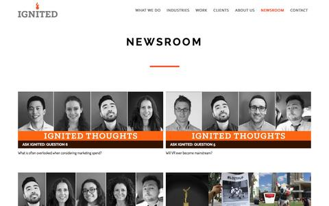 Ignited    NewsRoom
