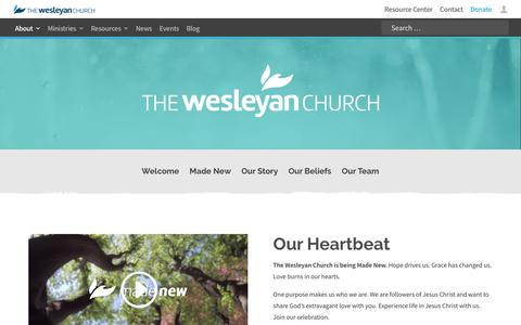 About | The Wesleyan Church