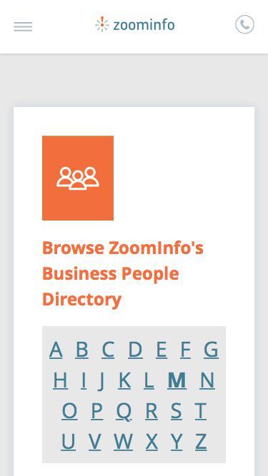 Screenshot of Team Page  zoominfo.com - Ekaterina Makarova: Business Profiles | ZoomInfo.com