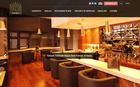 Screenshot of Home Page tugcanhotel.com.tr - TUĞCAN OTEL - captured Dec. 14, 2018