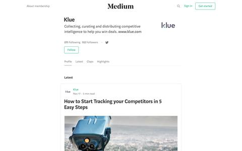 Klue – Medium