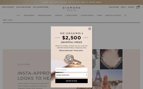 Screenshot of Blog diamondnexus.com - Blog - captured Nov. 14, 2018