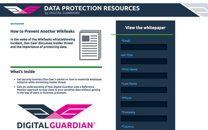 Dan Geer on How to Prevent Another WikiLeaks | Best Practices for Insider Threat Defense and Sensitive Data Protection