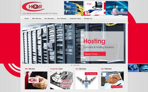 Screenshot of Home Page chear.co.ke - C-Hear | ...your reliable Internet service provider - captured Sept. 26, 2014