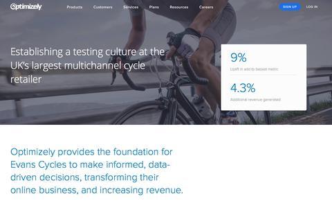 Evans Cycles Establishes Testing Culture