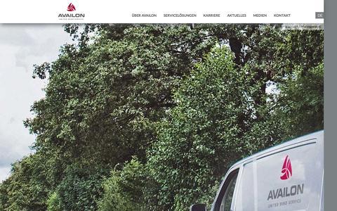 Screenshot of Team Page availon.eu - Management - Availon GmbH (Deutsch) - captured Nov. 2, 2014