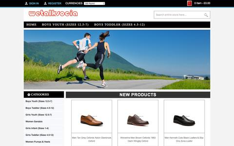 Screenshot of Home Page wetalksocial.co.uk - durable,Clogs & Mules,Outdoor,Oxfords,Loafers & Slip-Ons | Wetalksocial.co.uk - captured Sept. 21, 2018