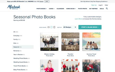 Photo Books, Photo Cards, Scrapbooks, Yearbooks and Calendars | Mixbook