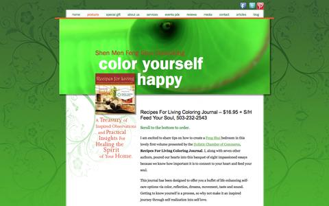 Screenshot of Products Page shenmenfengshui.com - Products | Shen Men Feng Shui Consulting - captured Dec. 22, 2016