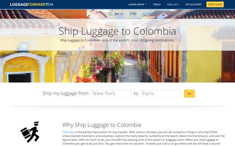 Ship Luggage to Colombia | Ship Bags to Colombia