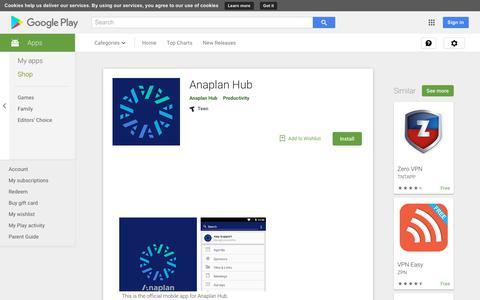 Anaplan Hub - Apps on Google Play